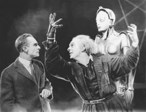 Metropolis-1927-Fredersen-Rotwang-Robot-Maria